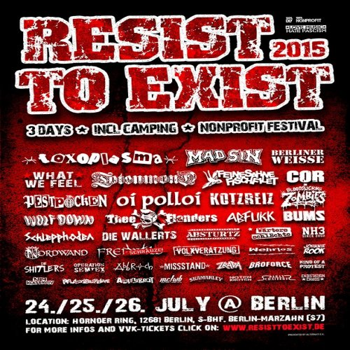 Resist to Exist 2015